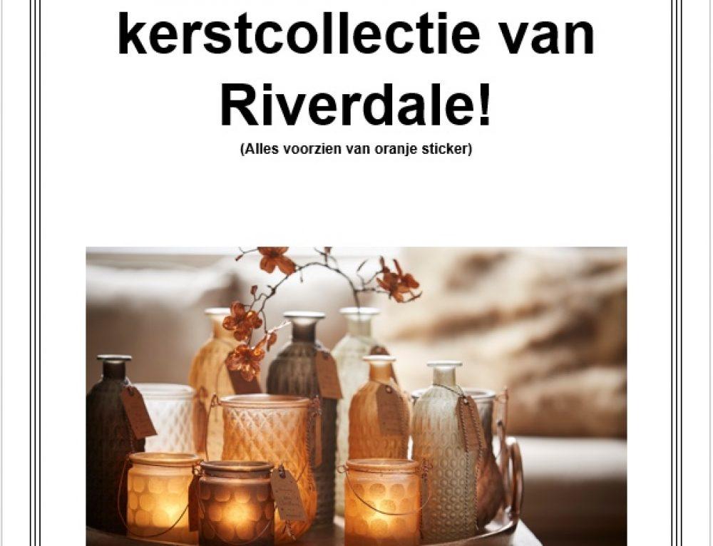 25% korting op de kerstcollectie van Riverdale!