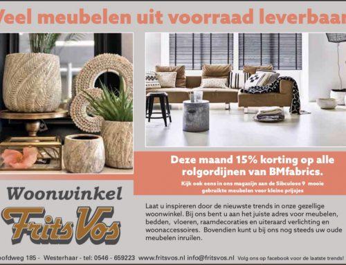 Gezellig woonwinkelen in Westerhaar!